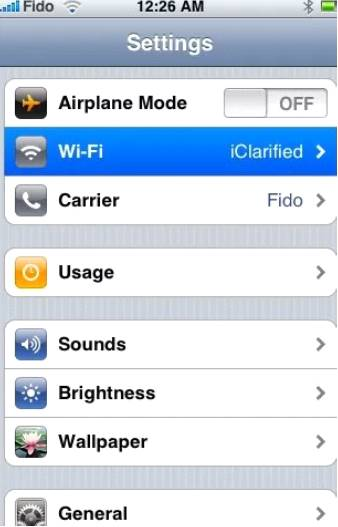 Как узнать IP-адрес на Айфон и Айпад?