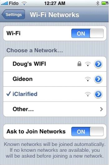 Как узнать IP-адрес на Айфон и Айпад - Шаг 2