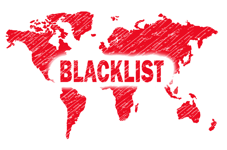 My IP address is blacklisted. What should I do?
