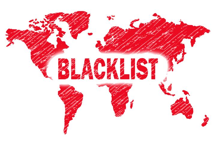 blacklisted ip