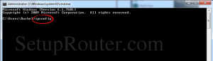 router ip address 1