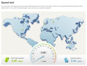 whoer net - speed test