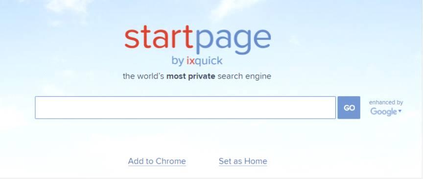 Анонимный поисковик IxQuick
