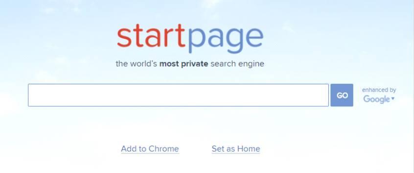 Анонимный поиск от сайта StartPage.com